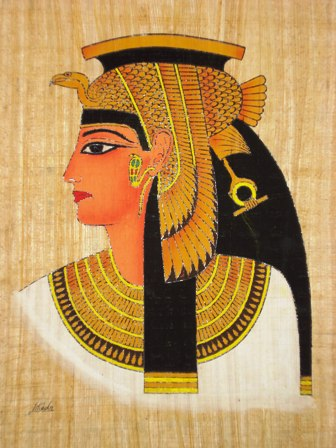 a biography of cleopatra vii an egyptian queen Queen of kings: cleopatra vii and the donations of alexandria  accounts  survive in plutarch's biography of antonius and dio cassius' roman history,1   presumably was a rendering of her association with isis in egypt but for a much  wider.