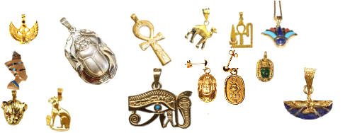 Egyptian jewelry personalized cartouche jewelry blown glass egyptian jewelry aloadofball Choice Image