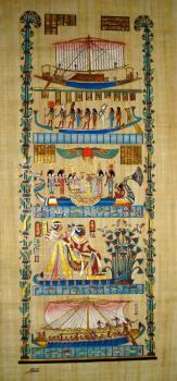 Egyptian papyrus art  ...